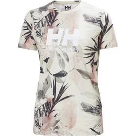 Helly Hansen HH Logo T-Shirt Women, rosa/gris